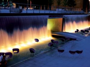 Koelen met fonteinen