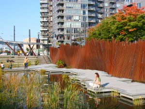 Tanner Springs Park, Portland, Oregon, VS