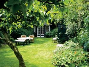Groene privétuinen