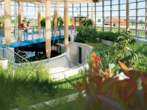 Waterfabriek in het Dierenpark Emmen